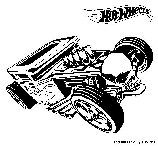 Dibujo de Hot Wheels 8 pintado por Vbcbcvbcv en Dibujosnet el da