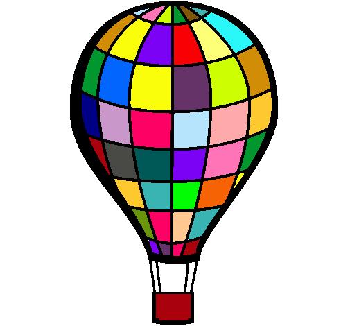 Dibujo de Globo aerosttico pintado por Kakel en Dibujosnet el
