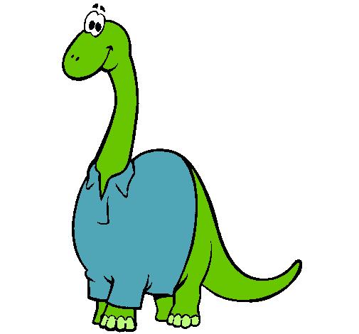 Diplodocus con camisa
