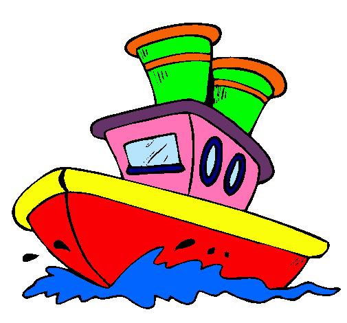 Dibujo de barco en el mar pintado por gaeel en - Imagenes de barcos infantiles ...