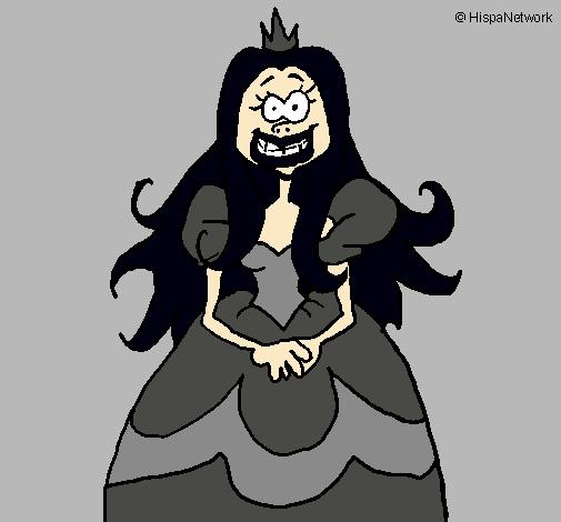 Dibujo de Princesa fea pintado por Xuramii en Dibujosnet el da