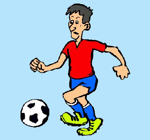Dibujo De Jugador De Fútbol Pintado Por Kfjdcnrijcmd En