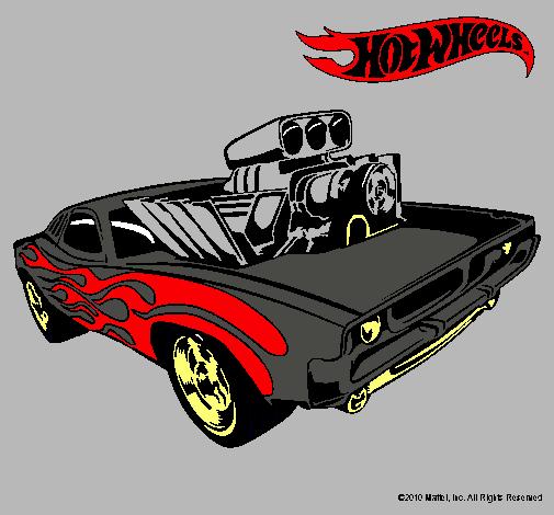 Dibujo de autos de hot wheel - Imagui