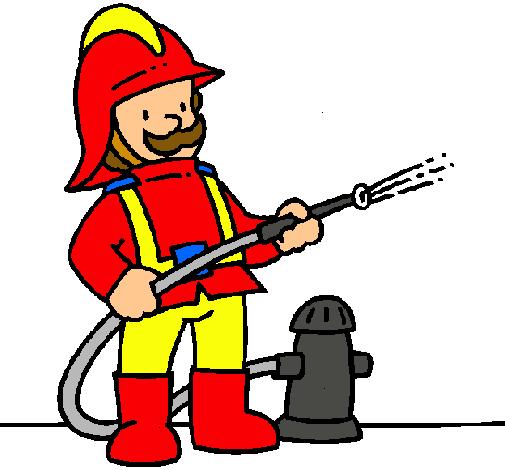 Dibujo de Bombero pintado por Bomberito en Dibujosnet el da 05