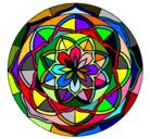 Dibujo Mandala 6 pintado por violeta_1000