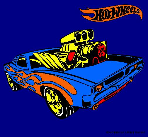 Dibujo de Hot Wheels 11 pintado por Chido en Dibujosnet el da 15