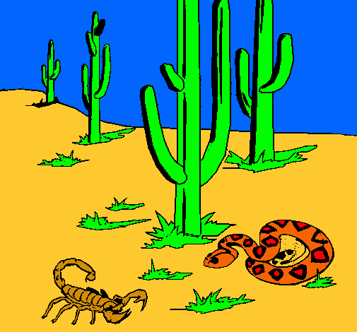 Dibujo de Desierto pintado por Avaquick en Dibujos.net el día 09 ...