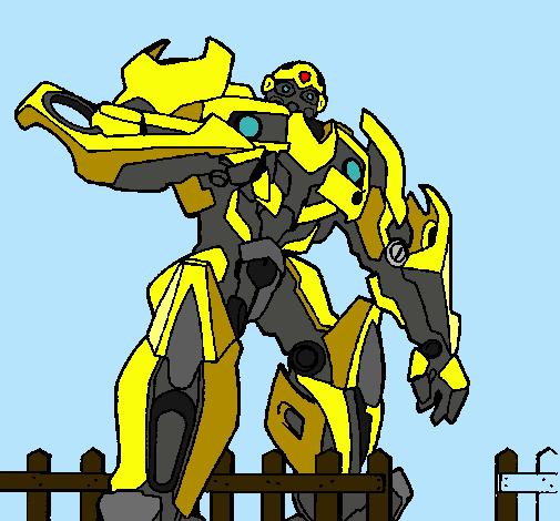 Dibujo De Transformer Pintado Por Antonis En Dibujos.net