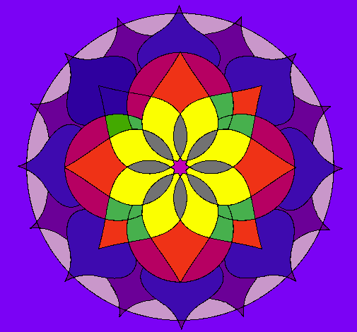 Mandalas en color imagui - Colores para mandalas ...