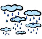 Dibujo Lluvioso pintado por LLoviendo