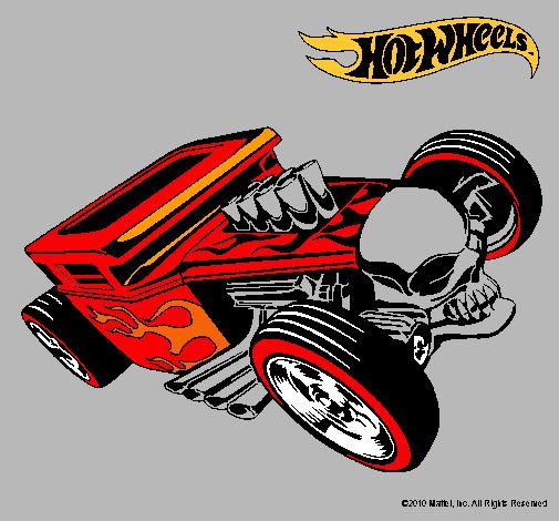 Dibujo de Hot Wheels 8 pintado por Carros en Dibujosnet el da 29