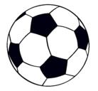 Dibujo Pelota de fútbol II pintado por tarjeta