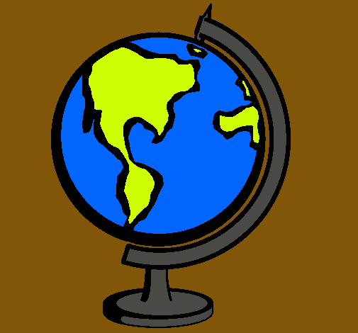 Dibujo de Bola del mundo II pintado por Mapamundi en Dibujos.net ...