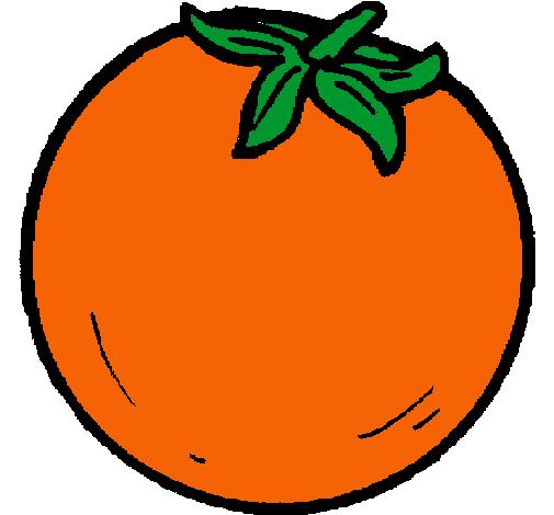 Dibujo de naranjas pintado por Naranja en Dibujosnet el da 3105