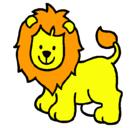 Dibujo León pintado por agusbolso