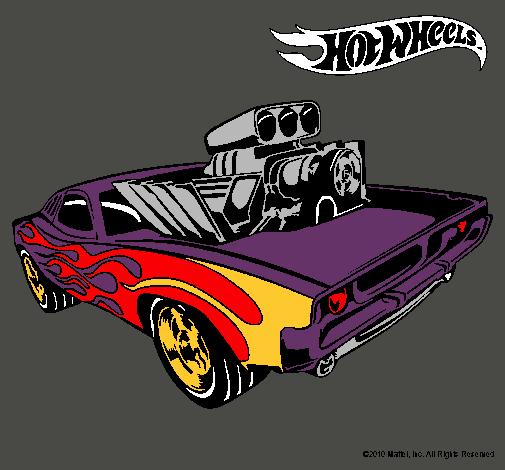 Dibujo de Hot Wheels 11 pintado por Auto en Dibujosnet el da 07