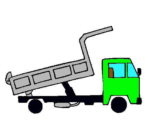 Dibujo de Camión de carga pintado por Camion en Dibujos.net el día ...