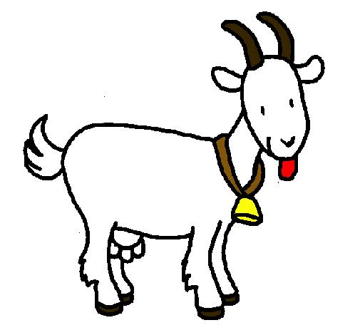 Dibujo de Cabra pintado por Maruss en Dibujos.net el día 15-06-11 ...