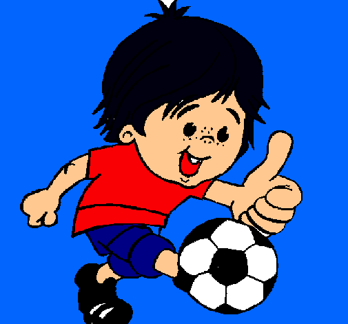 Dibujo de Chico jugando a fútbol pintado por Matrix en Dibujos.net ...