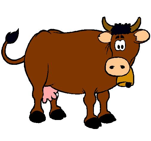 Dibujo de Vaca lechera pintado por Prisandnoe en Dibujos.net el ...