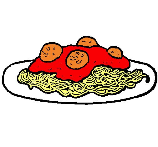 Dibujo De Espaguetis Con Carne Pintado Por Spaguetti En Dibujos Net El D 237 A 02 08 11 A Las 16 35