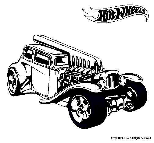 Dibujo de Hot Wheels 6 pintado por Toreto en Dibujosnet el da 13