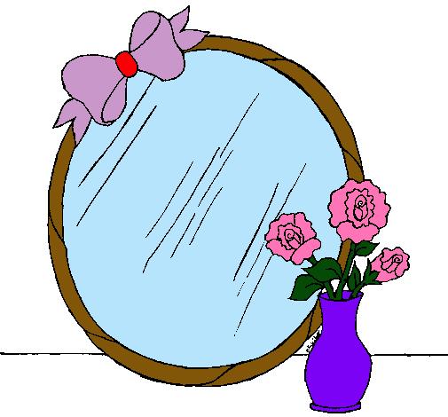 Dibujo de espejo pintado por nbvgv en el d a - Dibujos para espejos ...