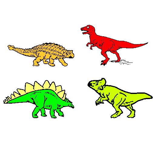 Dinosaurios de tierra