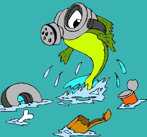 Dibujo de Contaminación marina pintado por Pezjoebiolma en Dibujos ...