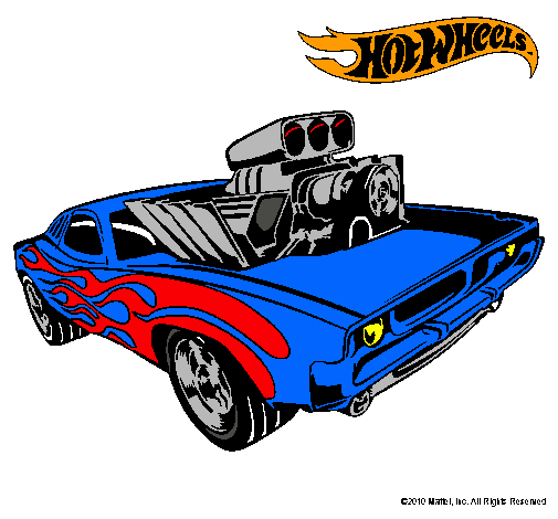 Dibujo de Hot Wheels 11 pintado por Carro en Dibujosnet el da 06