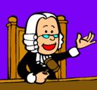Dibujo Juez pintado por guiomar
