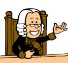Dibujo Juez pintado por santanacio