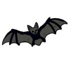 Dibujo Murciélago volando pintado por murcielago