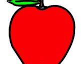 Dibujo manzana pintado por 201020
