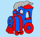 Dibujo Tren pintado por DANILITO