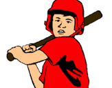 Dibujo Niño bateador pintado por DANILITO