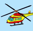 Dibujo Helicóptero  pintado por DANILITO