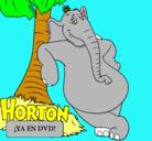 Dibujo Horton pintado por Merengue