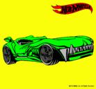 Dibujo Hot Wheels 3 pintado por DANILITO