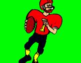 Dibujo Jugador en acción pintado por DANILITO