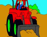 Dibujo Excavadora pintado por DANILITO
