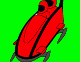 Dibujo Bajada en trineo moderno pintado por DANILITO