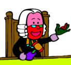 Dibujo Juez pintado por hfjgffxfvxv