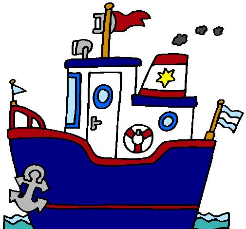Dibujo de barco con ancla pintado por krodiaz en dibujos - Imagenes de barcos infantiles ...