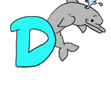 Dibujo Delfín pintado por ddaarrii