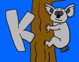 Dibujo Koala pintado por luleteetete