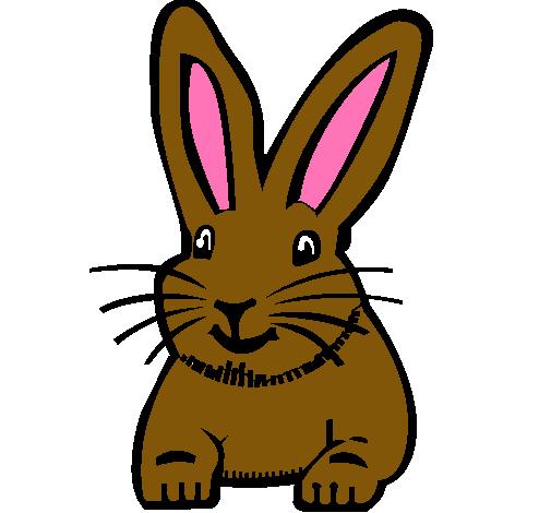 Dibujo de Conejo pintado por Hodif en Dibujosnet el da 020111