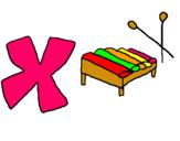 Dibujo Xilófono pintado por leoelena