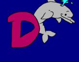 Dibujo Delfín pintado por flopypapito