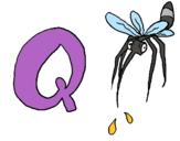 Dibujo Mosquito pintado por leoelena